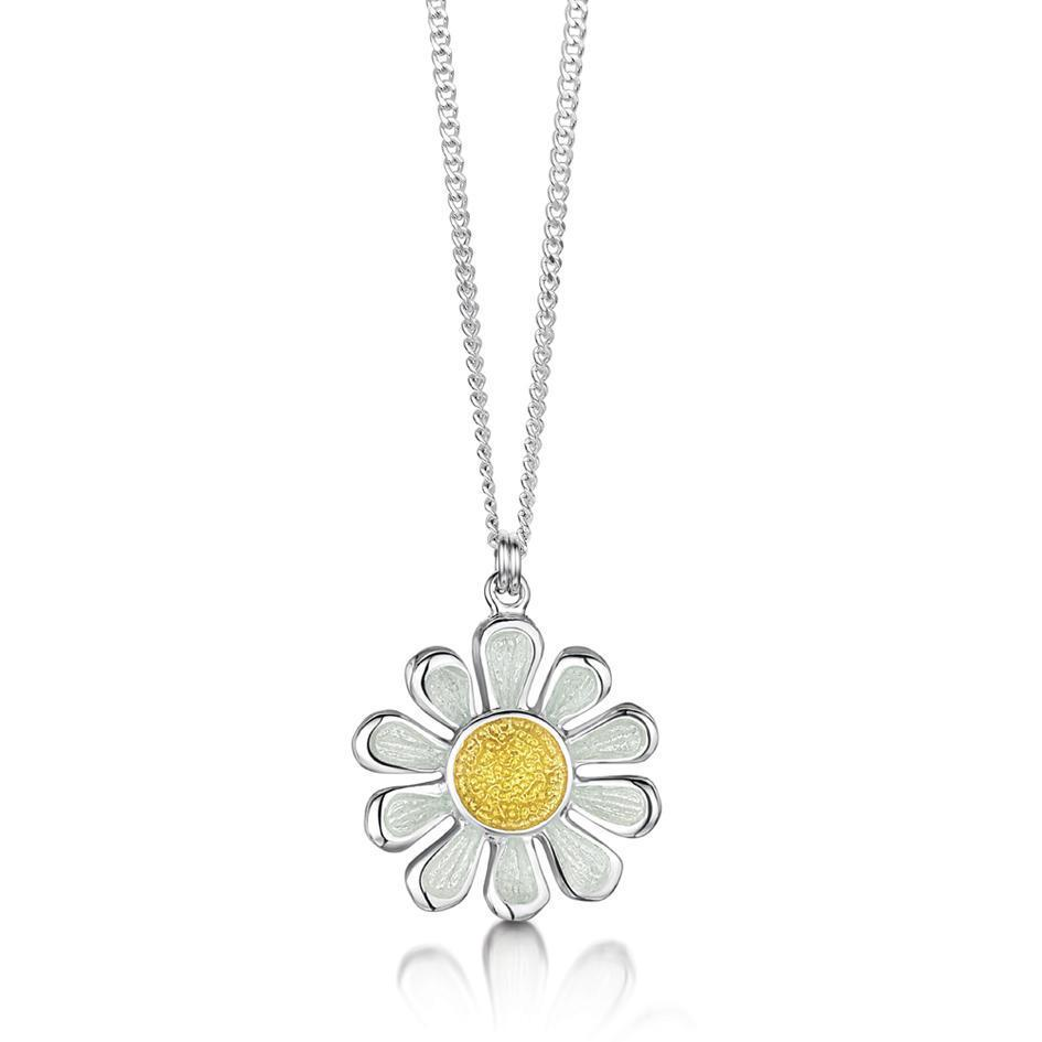Sheila Fleet Daisies At Dawn Pendant - EPX234-Ogham Jewellery