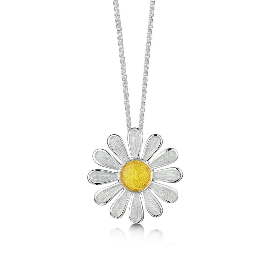 Sheila Fleet Daisies At Dawn Pendant - EPXX234-Ogham Jewellery