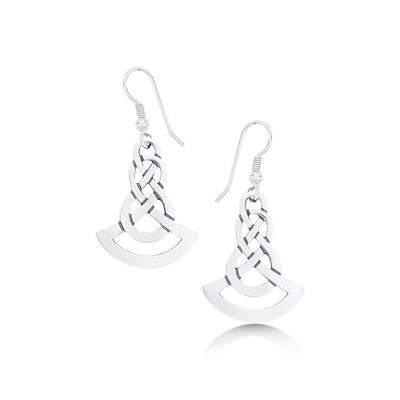 Sheila Fleet Lovers Knot Earrings - EX25-Ogham Jewellery