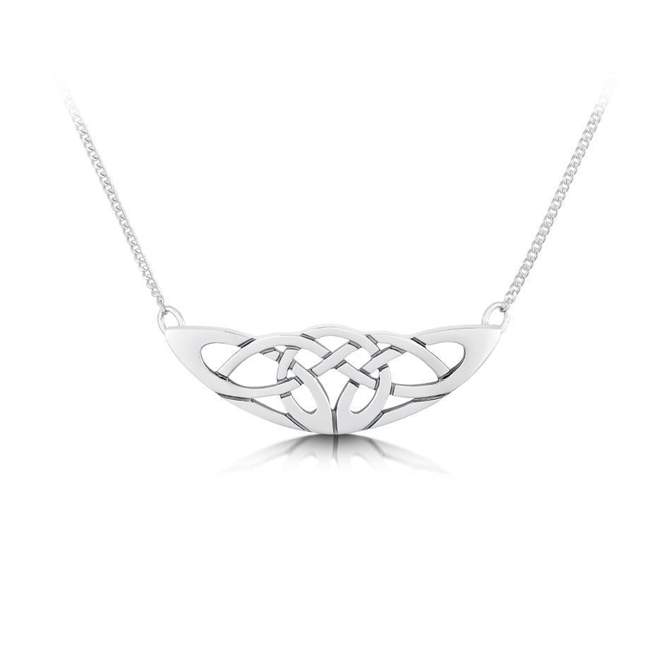 Sheila Fleet Lovers Knot Necklet - N14-Ogham Jewellery