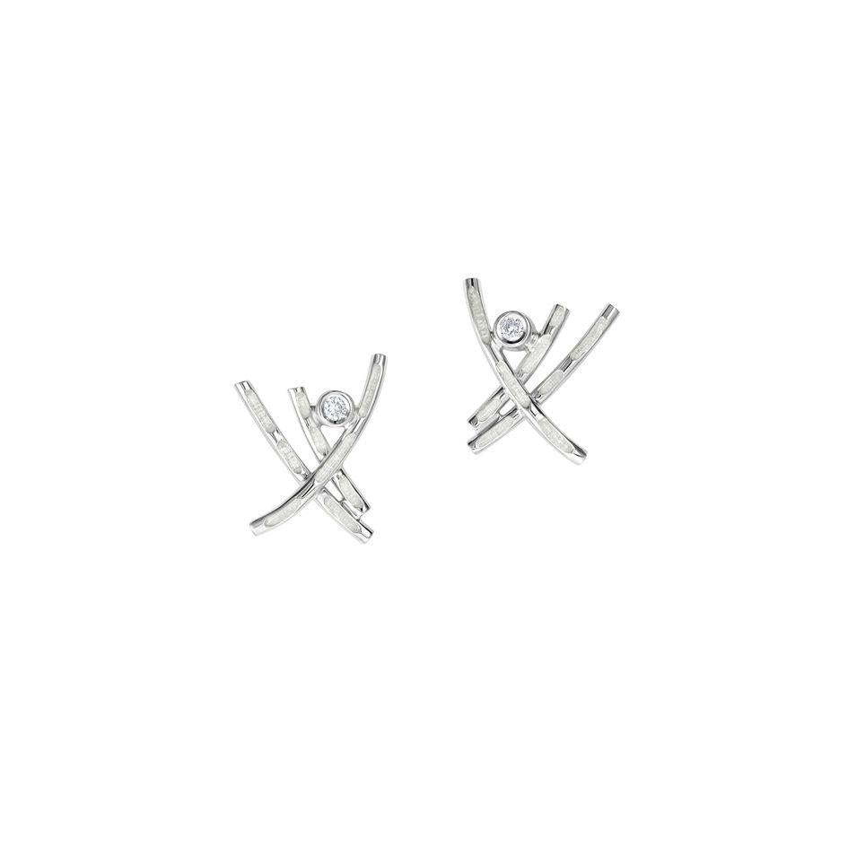 Sheila Fleet Morning Dew Earrings - ESE00185-Ogham Jewellery