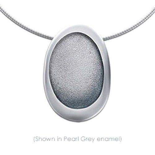 Sheila Fleet Pebble Silver Necklet ENXXX167-Ogham Jewellery