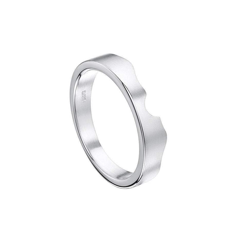 Sheila Fleet River Ripples Ring - R088-SIL-Ogham Jewellery