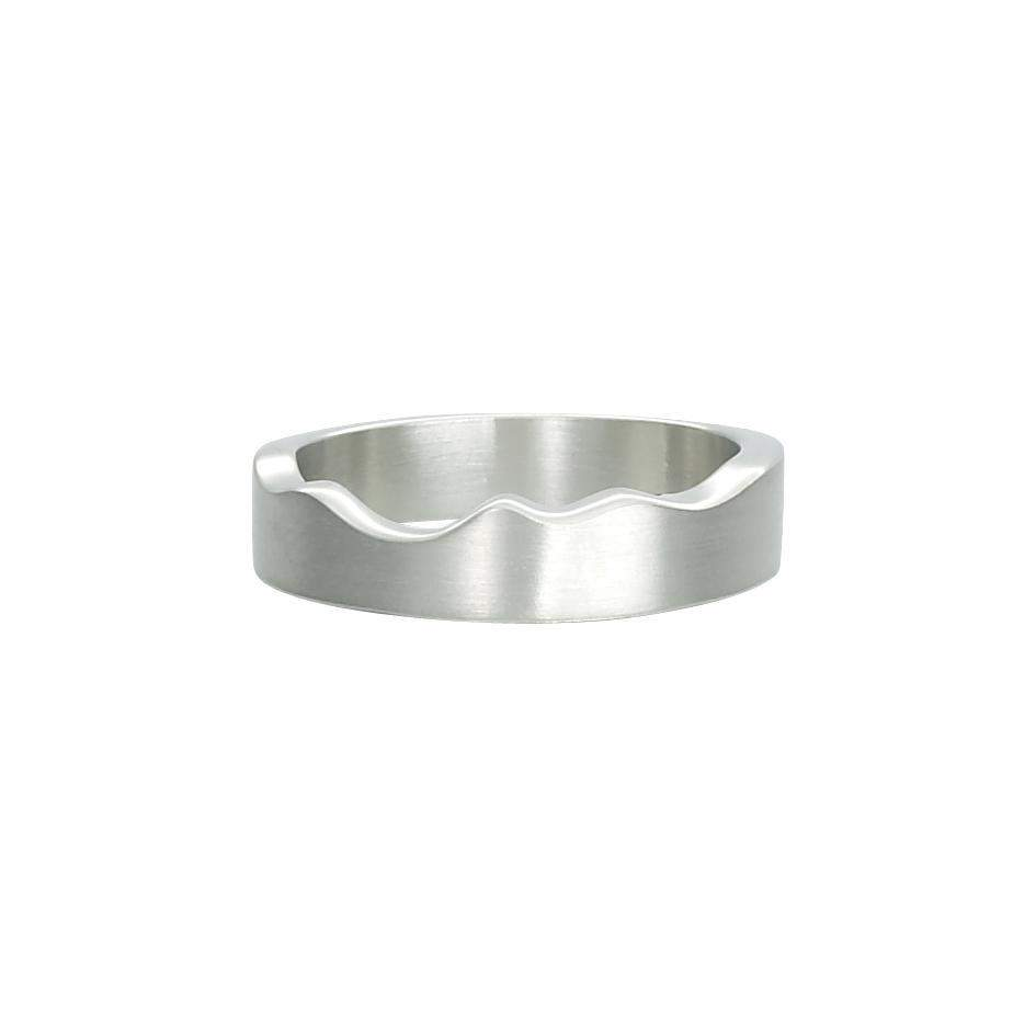 Sheila Fleet River Ripples Ring - RX87-SIL-Ogham Jewellery