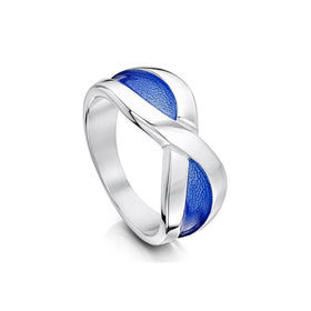 Sheila Fleet Saltire Ring - ERX202-Ogham Jewellery