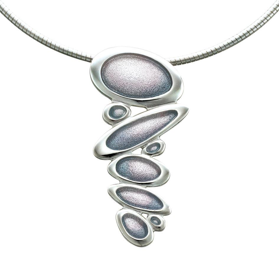 Sheila Fleet Shoreline Pebble Necklet - ENXXX168-Ogham Jewellery