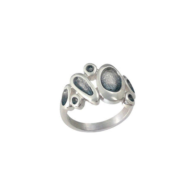 Sheila Fleet Shoreline Pebble Ring - ERX168-Ogham Jewellery
