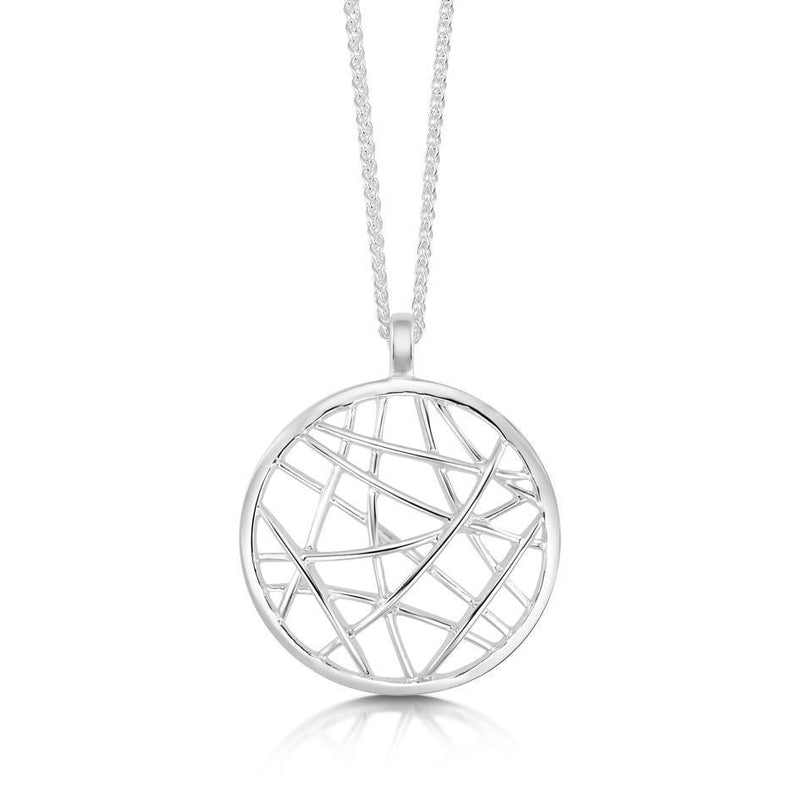 Sterling Silver Creel Pendant - P209