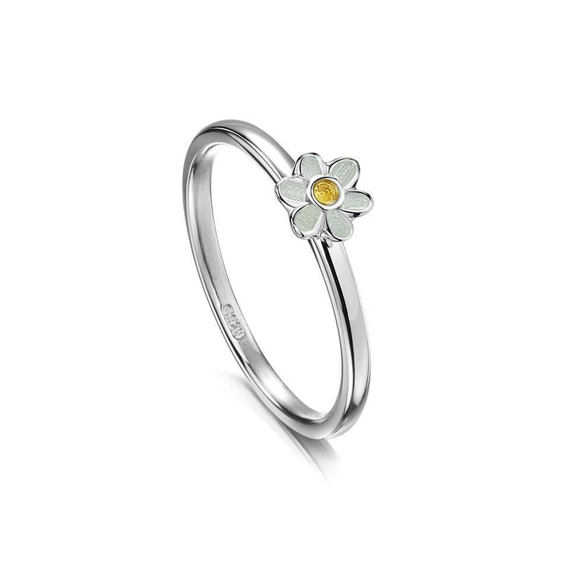 Sheila Fleet Silver Daisies at Dawn Ring - ER0236-Ogham Jewellery