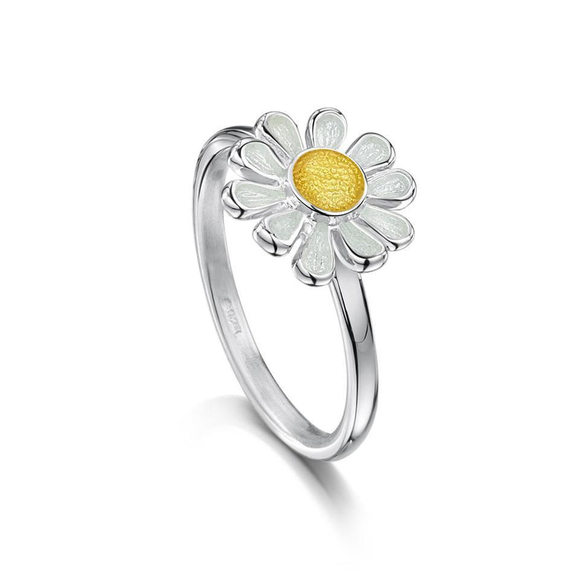 Sheila Fleet Silver Daisies at Dawn Ring - ER234-Ogham Jewellery