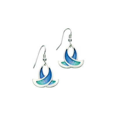 Sheila Fleet Summer Splash Earrings - EE36-Ogham Jewellery