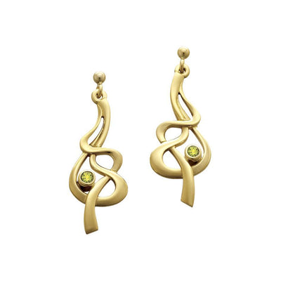 Sheila Fleet Tidal Earrings - SEX155-Ogham Jewellery