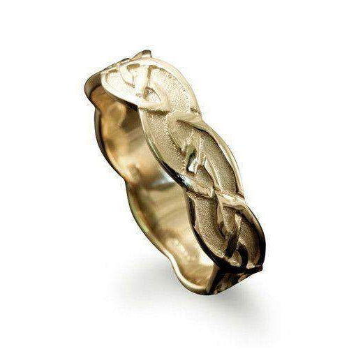Foula Celtic Ring - Various Metals - R224 - Size R-Z