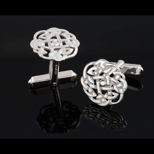 Silver Celtic Cufflinks - C438