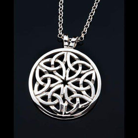 Shetland Silver or Gold Celtic Pendant P432-Ogham Jewellery