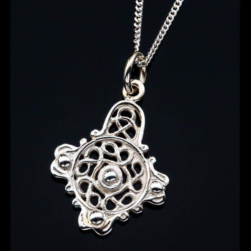 Silver or Gold Celtic Pendant - P533-S