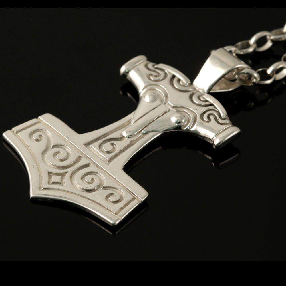 on the leather shop thor neck s item pendant men hammer online