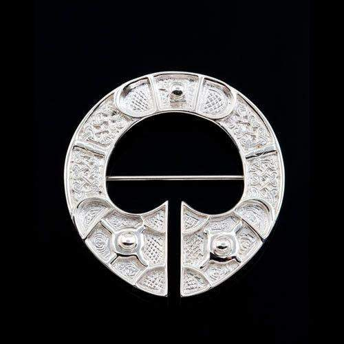 Shetland Sterling Silver or Gold St Ninians Brooch B51-Ogham Jewellery