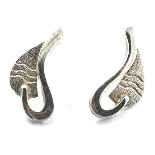Sterling Silver Earrings-PAR11