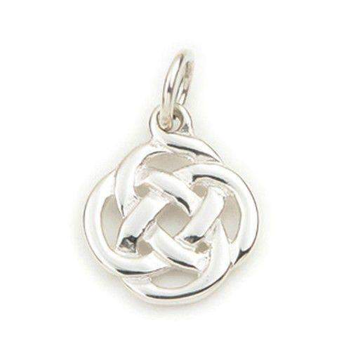 Silver or 9ct Gold Celtic Charm - C175-Ogham Jewellery