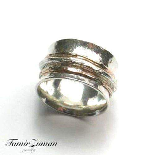 Silver Spinning Ring TAR4637-Ogham Jewellery