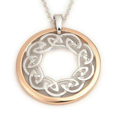 Sterling Silver Celtic Pendant - P577-Ogham Jewellery