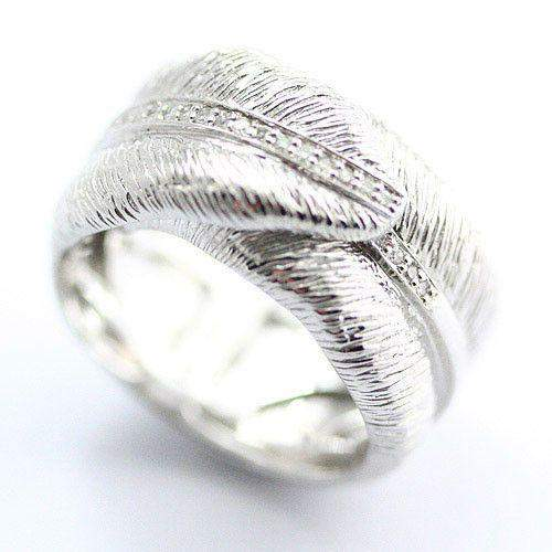 Sterling Silver & Diamond Ring-Ogham Jewellery