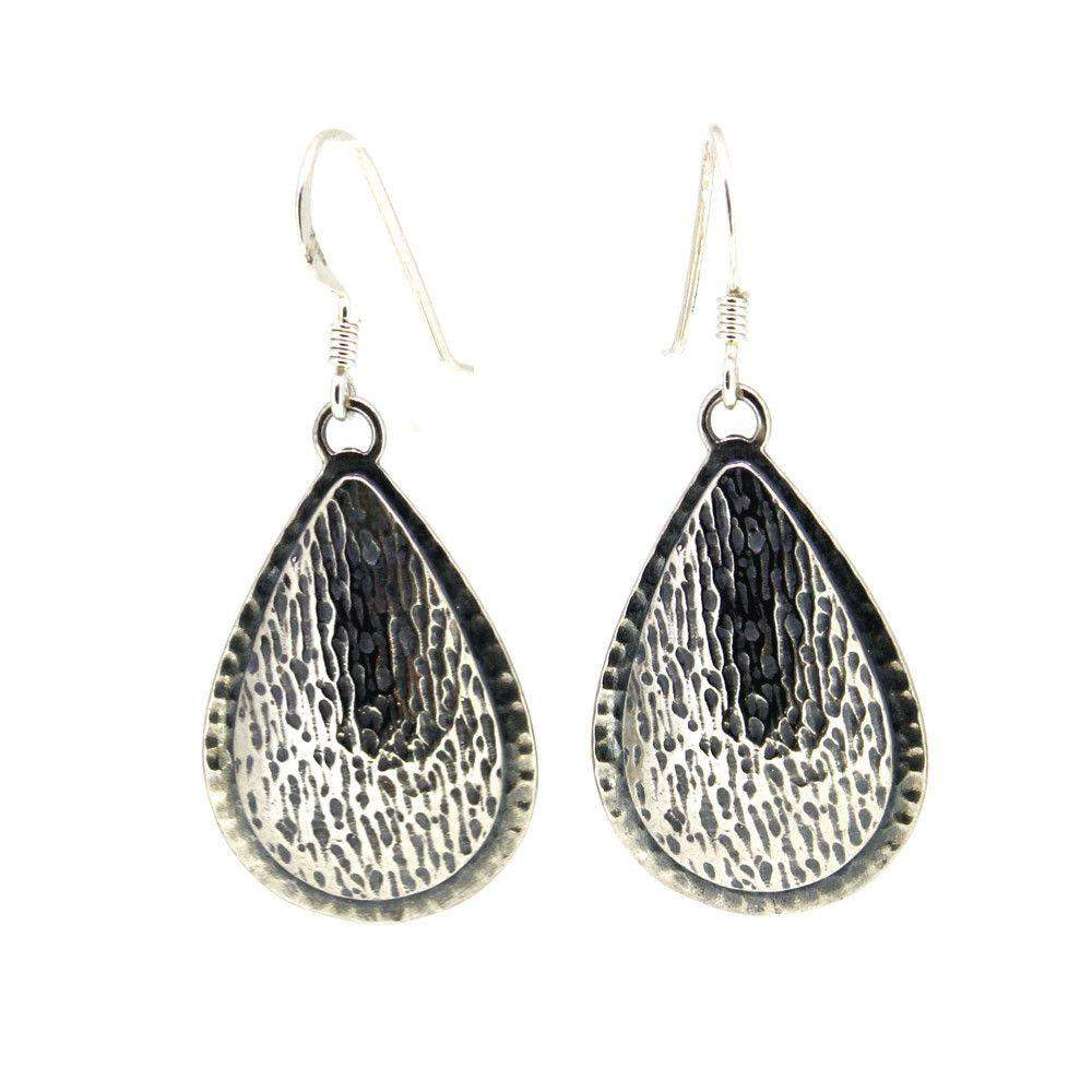 Sterling Silver Earrings -E4215A-Ogham Jewellery