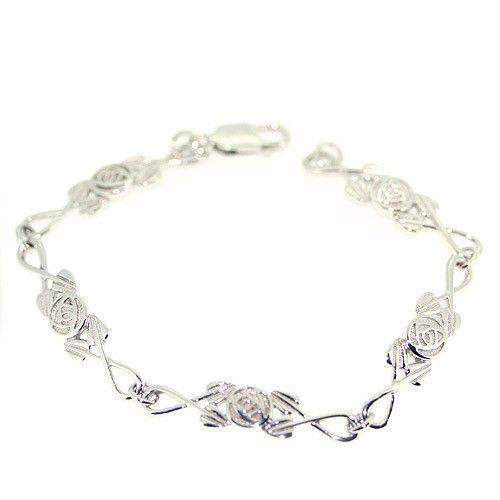 Sterling Silver Mackintosh Bracelet -B681-Cairn