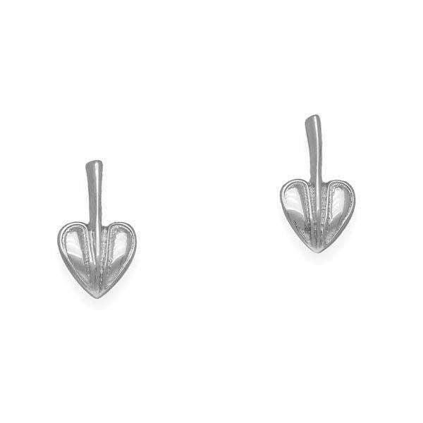 Sterling Silver Mackintosh Earrings E1641