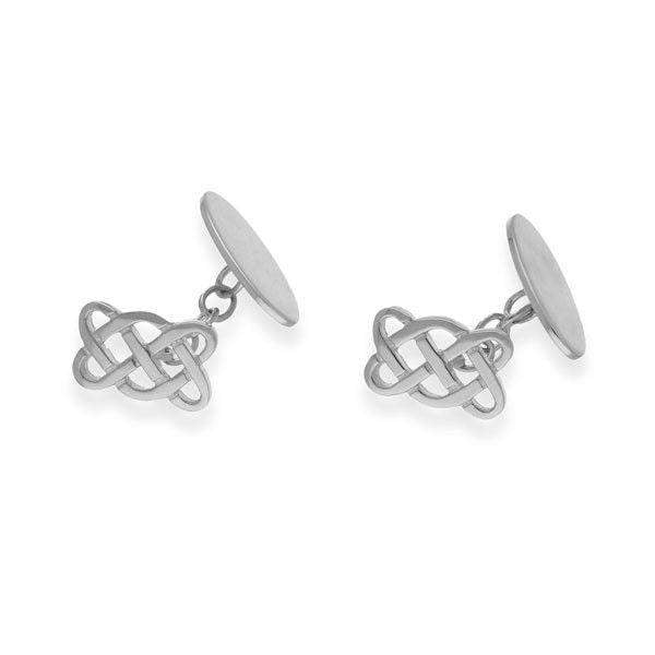 Sterling Silver or 9ct Gold Celtic Cufflinks - CL58
