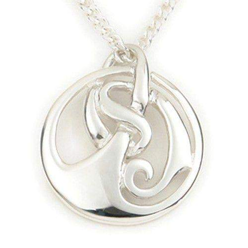 Sterling Silver or 9ct Gold Celtic Pendant - P238