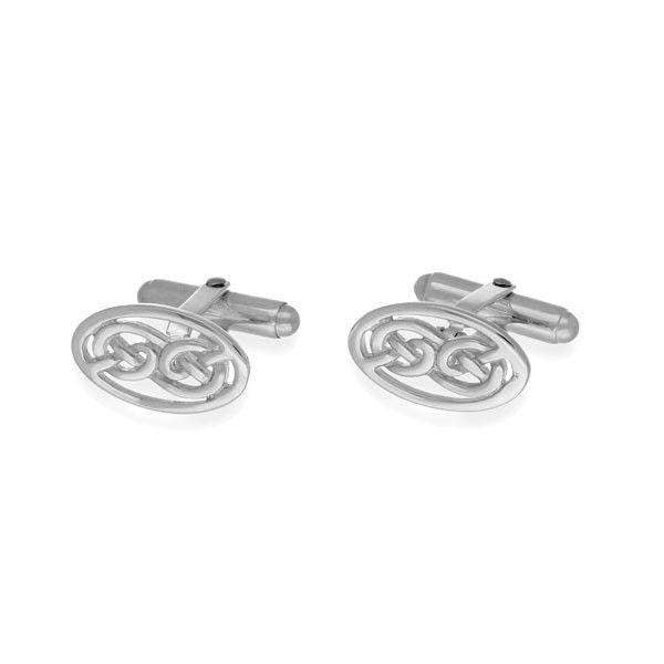 Sterling Silver or 9ct Gold Cufflinks - CL123-Ogham Jewellery