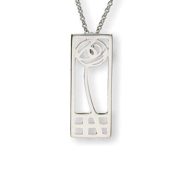 Sterling Silver or Gold Pendant - P270 ORT-Ogham Jewellery