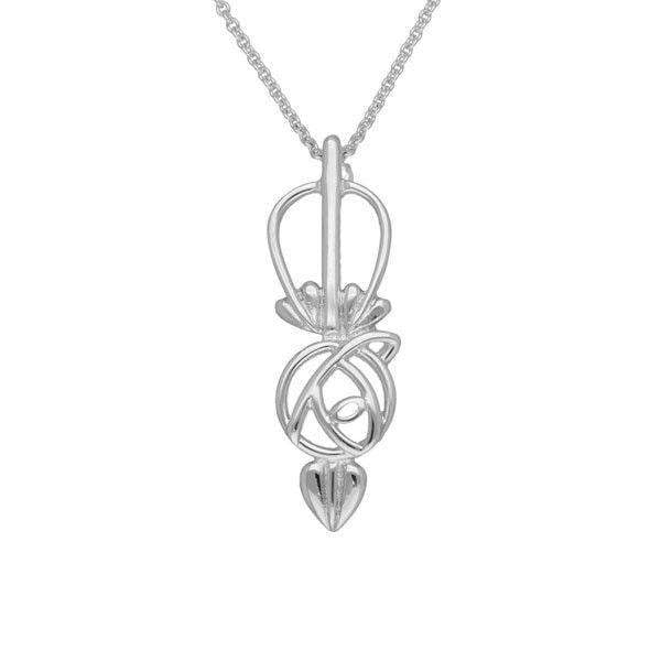 Sterling Silver or Gold Pendant - P548