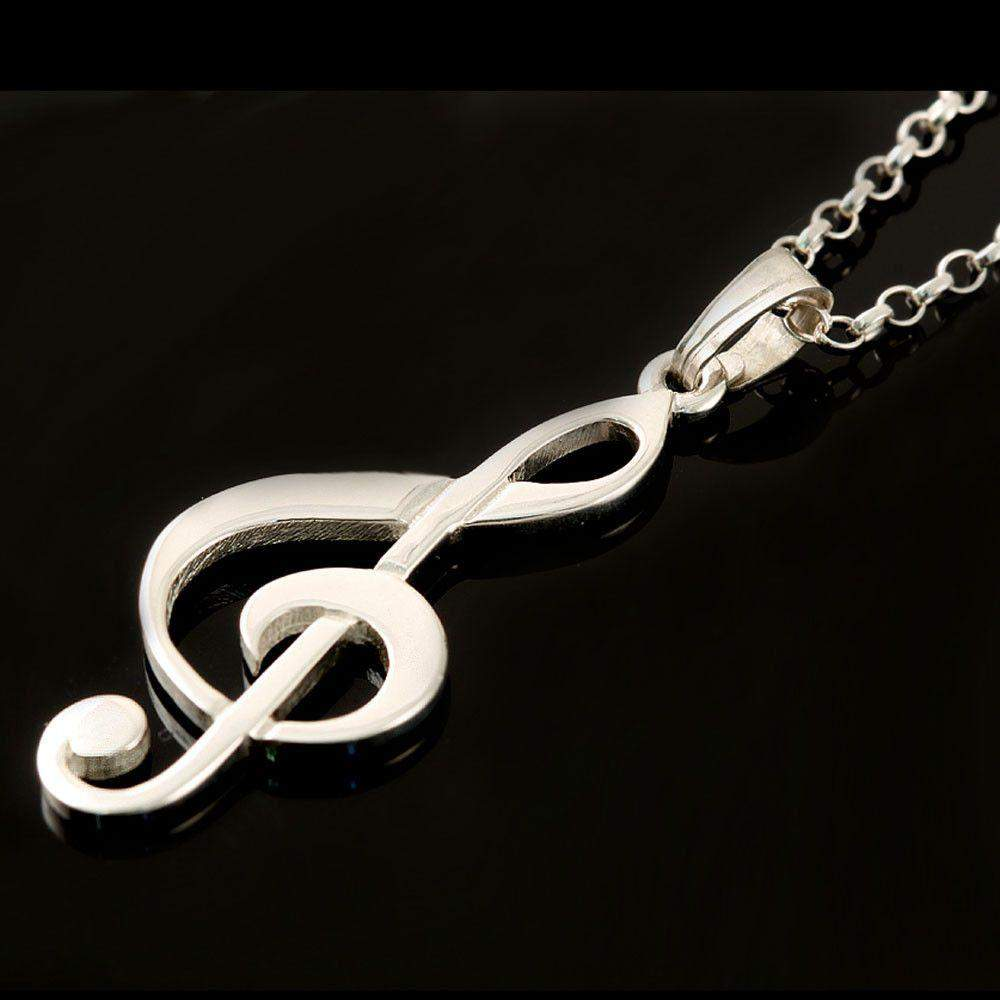design bronze accessories com gift fashion pendant aliexpress item chain necklace musical note in color music on long from necklaces jewelry