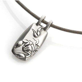 Sterling Silver Scorpion Pendant-Ogham Jewellery