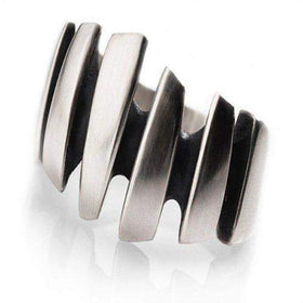 Sterling Silver Shard Ring-Ogham Jewellery