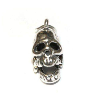 Sterling Silver Skull Charm-Ogham Jewellery