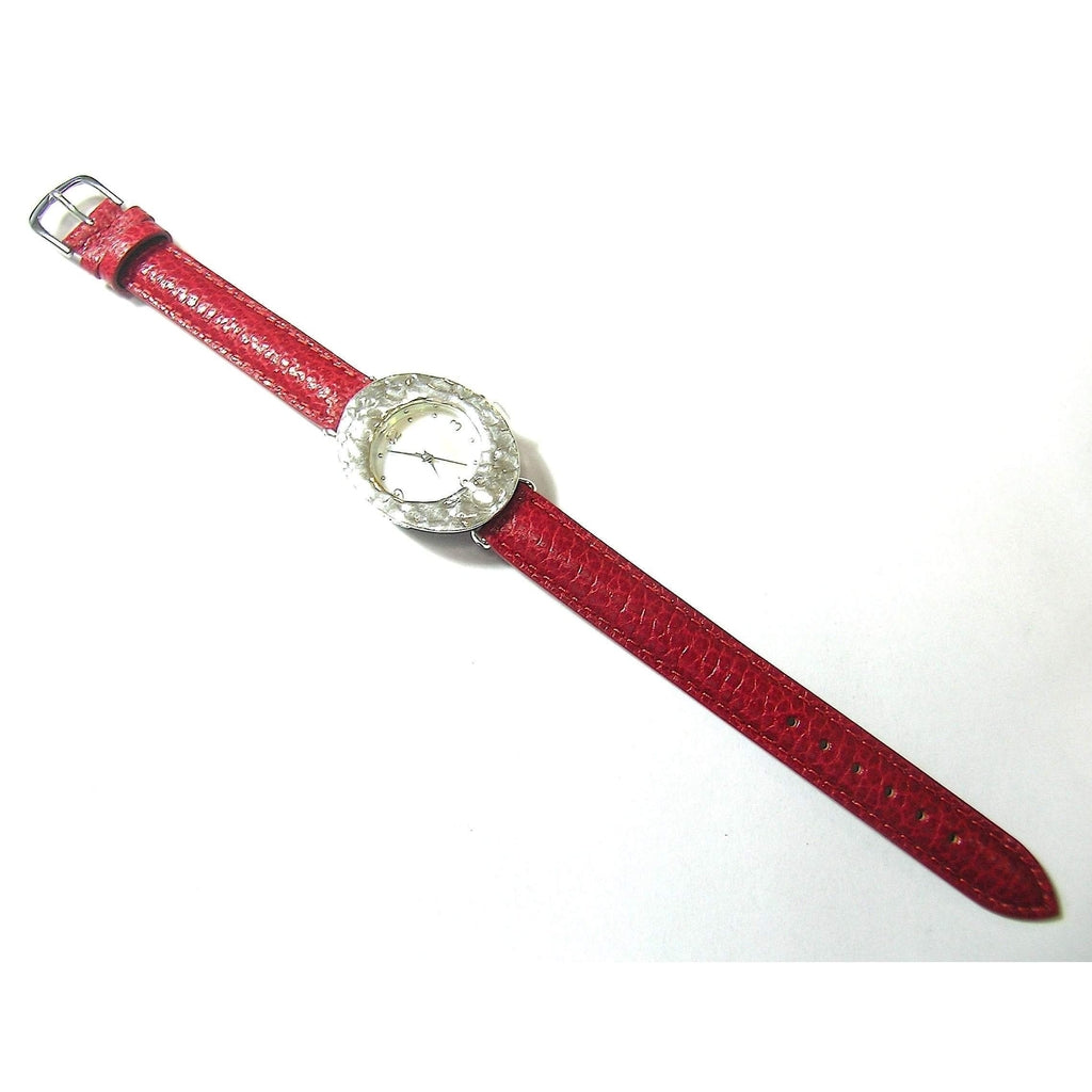 Sterling Silver Watch - W6888 Oval