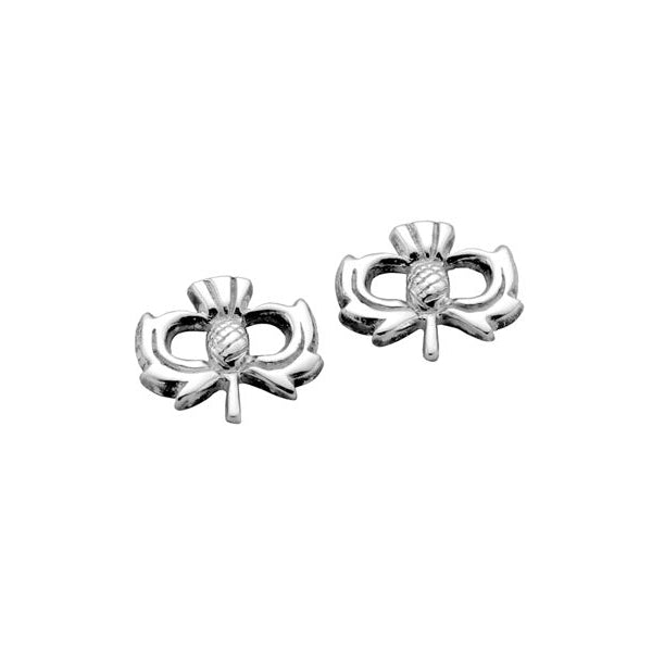 Kilry Scottish Thistle Earrings - TH023