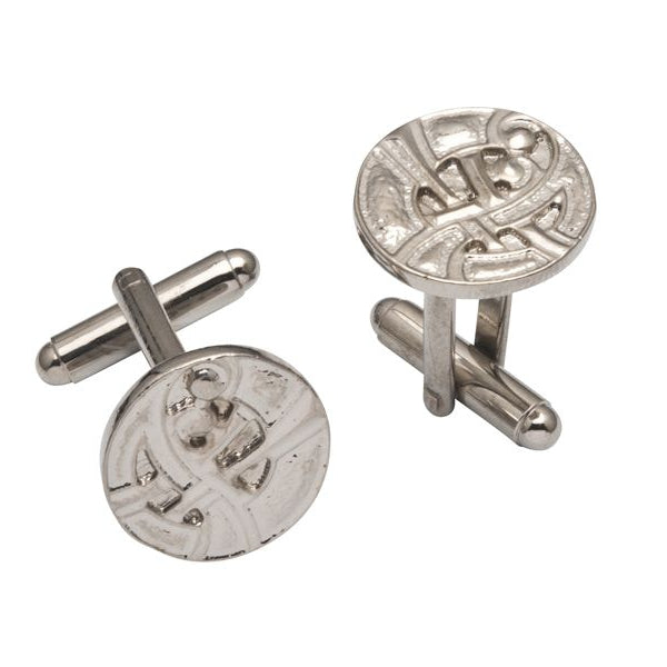 Contemporary Celtic Pewter Cufflinks - TRCL500