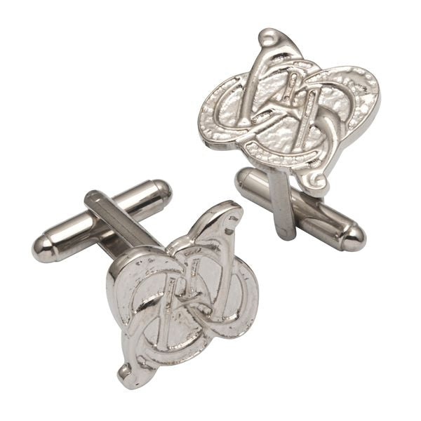 Celtic Knot Pewter Cufflinks - TRCL501