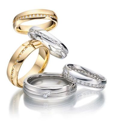 ALL DIAMOND WEDDING RINGS