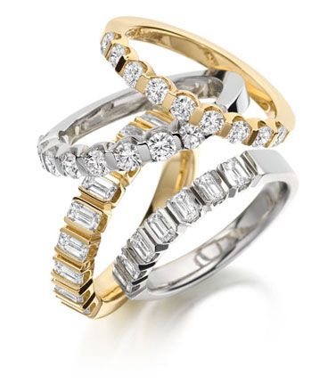 HALF ETERNITY RINGS