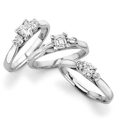 MULTI DIAMOND ENGAGEMENT RINGS
