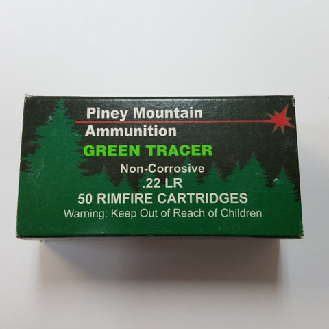 22 LONG RIFLE TRACERS (GREEN TRACE)