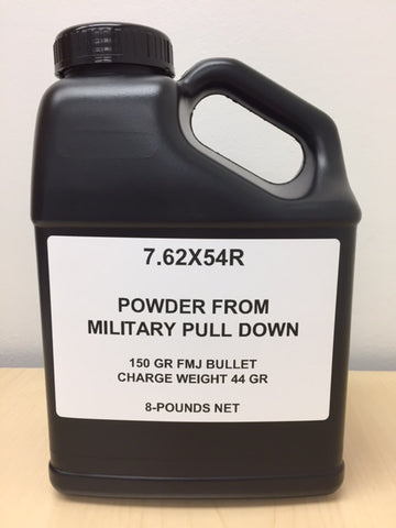 7.62 X 54R Powder From Pull Down / 8 Pound Containers