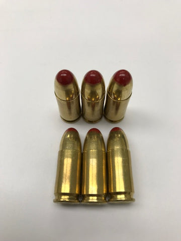 9mm Red Tracers / 10 Pack