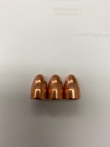 9mm 115 Gr Plated Bullets / 800 Bullets